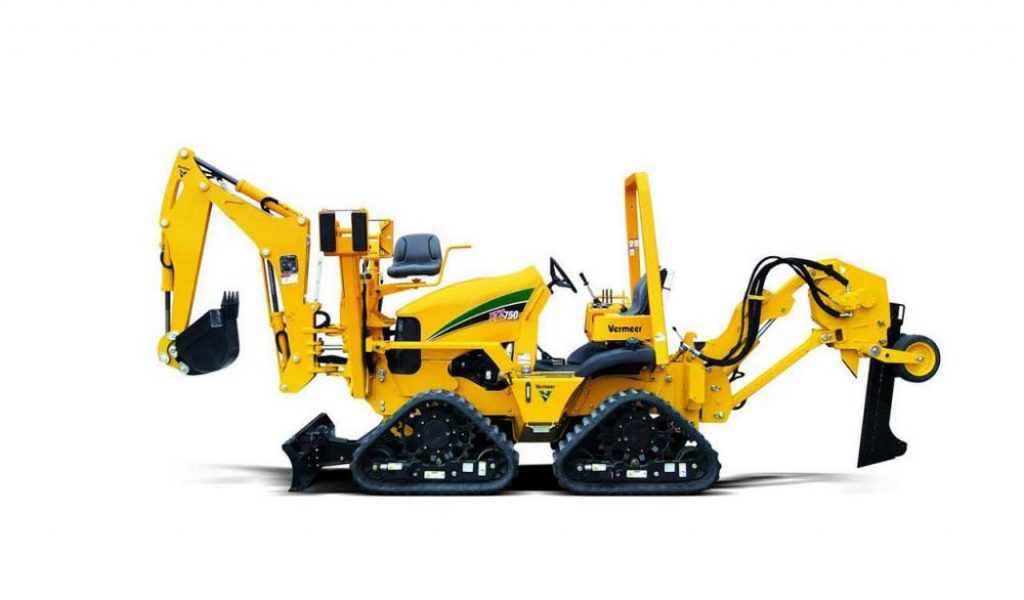 Trencher per posa Sottoservizi Vermeer RTX750 con Trencher