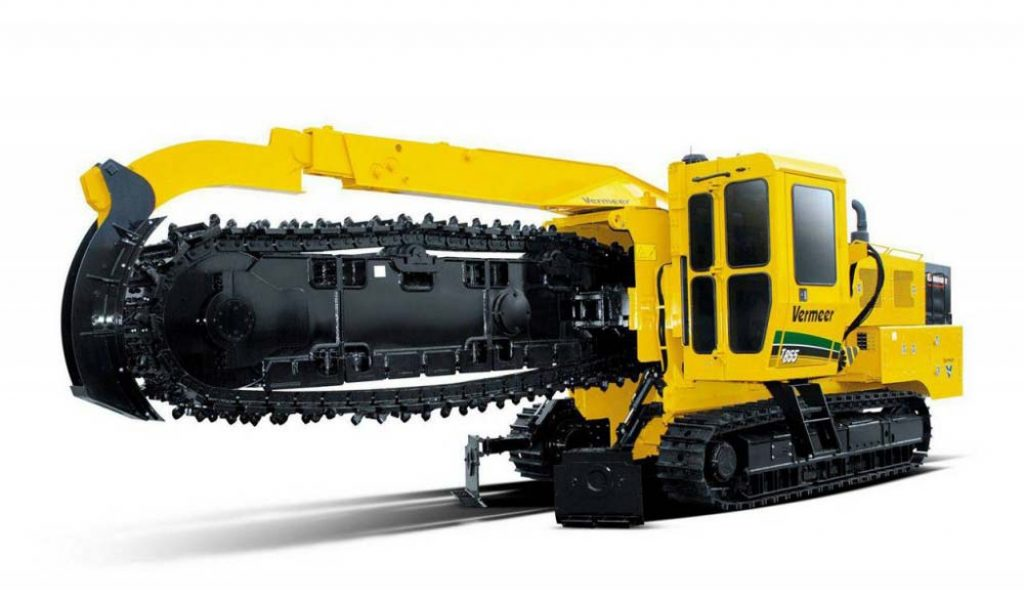 Trencher per piperlines Vermeer T855III Trencher