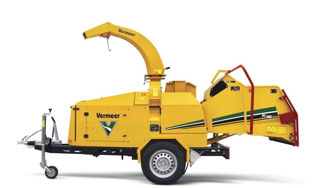 BC190XL astilladora Vermeer