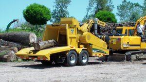 WC2300XL astilladora Vermeer de troncos