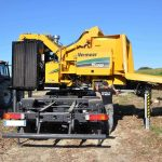 WC2300XLT-astilladora sobre camion Vermeer
