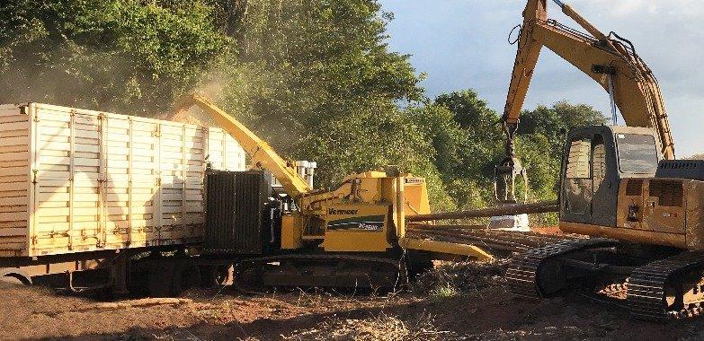 WC2500TX astilladora de troncos Vermeer
